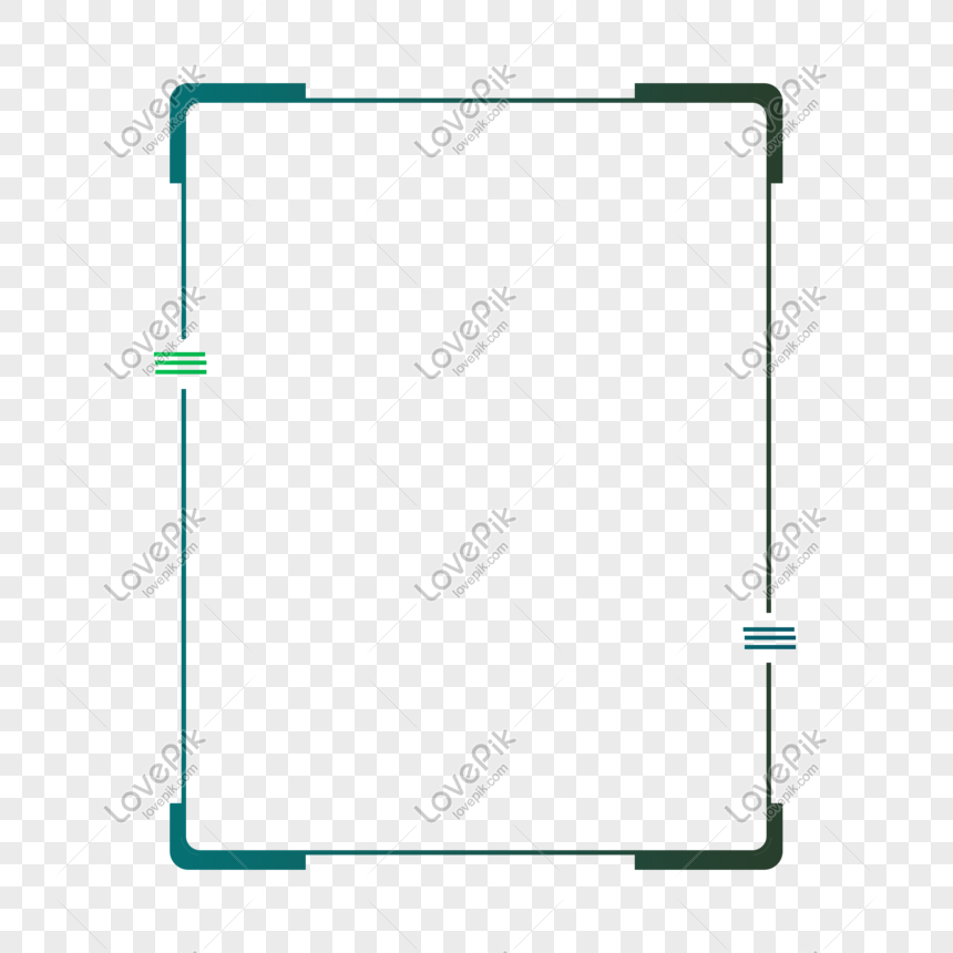 dark green gradient rounded edge technology touch frame png image picture free download 610963618 lovepik com dark green gradient rounded edge