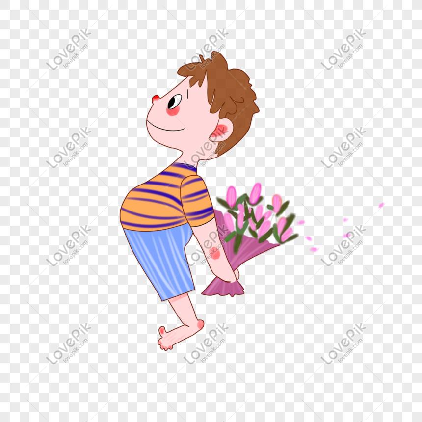 Pengakuan Lucu Kartun Mengambil Anak Kecil Bunga Gambar Unduh Gratis Imej 610962301 Format Psd My Lovepik Com