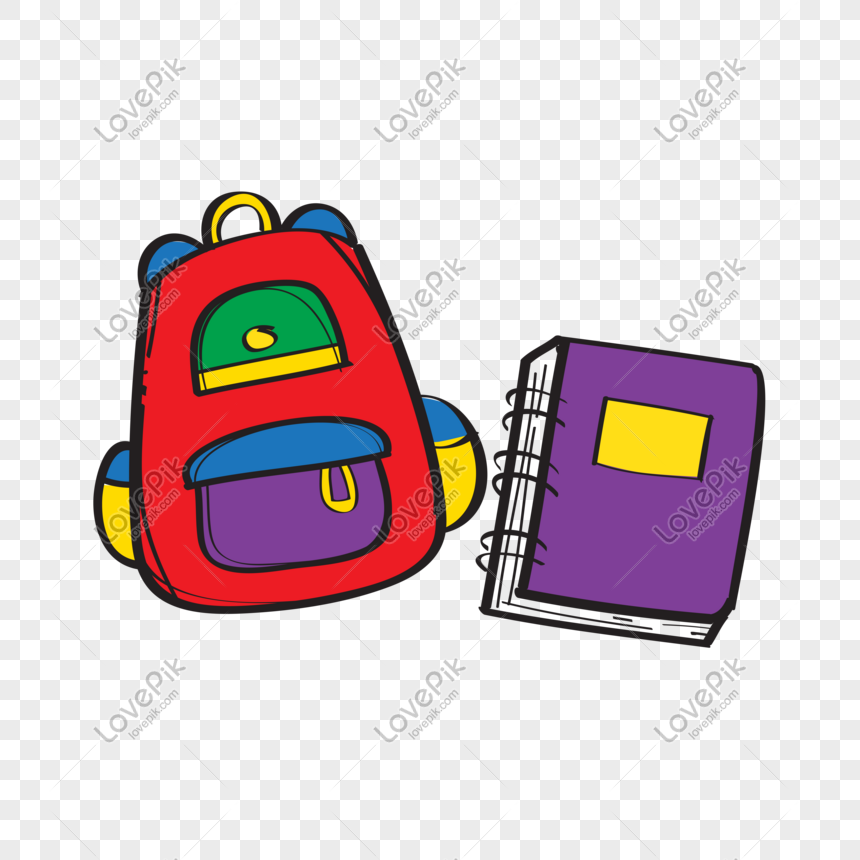 Photo De Cartable Et Livre Png Numero De L