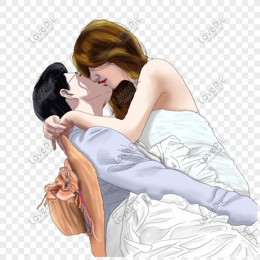 670+ Gambar Kartun Pasangan Tidur Romantis HD Terbaru