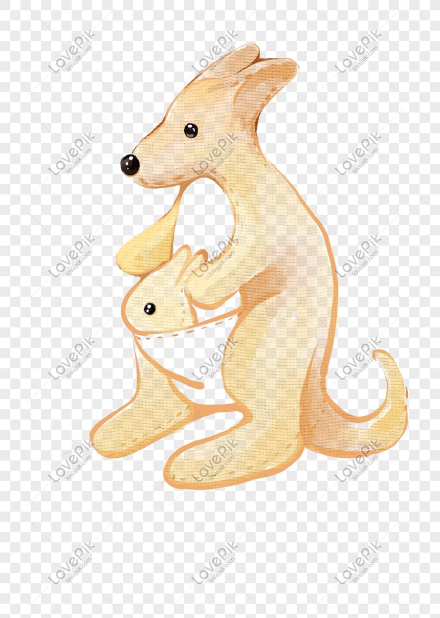 820 Koleksi Gambar Animasi Hewan Kanguru Gratis Terbaik