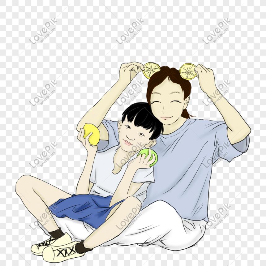 Ilustrasi Tangan Ibu Dan Kanak Kanak Kartun Yang Diambil Gambar Unduh Gratis Imej 611009394 Format Psd My Lovepik Com