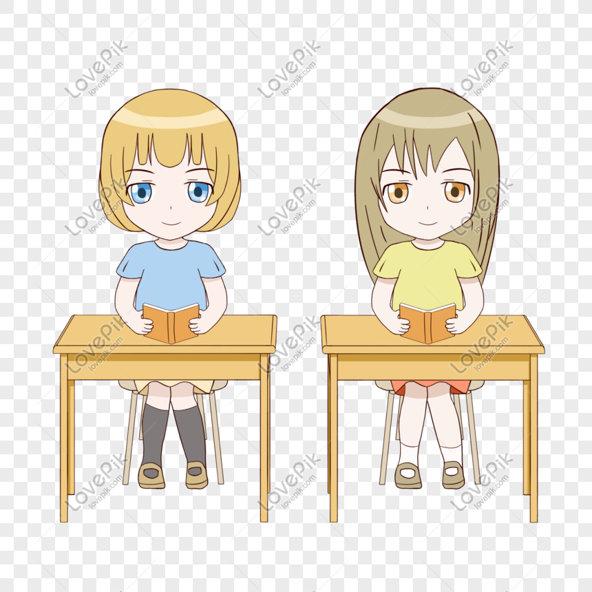 Schools Education6 25 18students: School Season Cartoon Cute Pupils 01 Png Image_picture