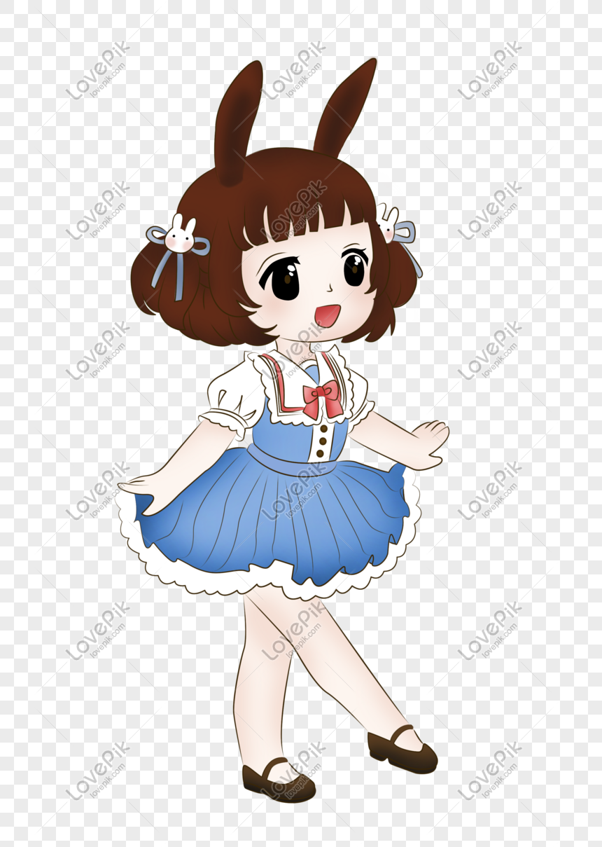 Cartoon Anime Cute Girl Png Image Picture Free Download 611065822 Lovepik Com