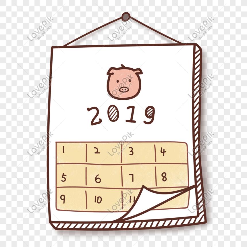 cute cartoon 2019 pig year calendar png image picture free download 611082626 lovepik com cute cartoon 2019 pig year calendar png