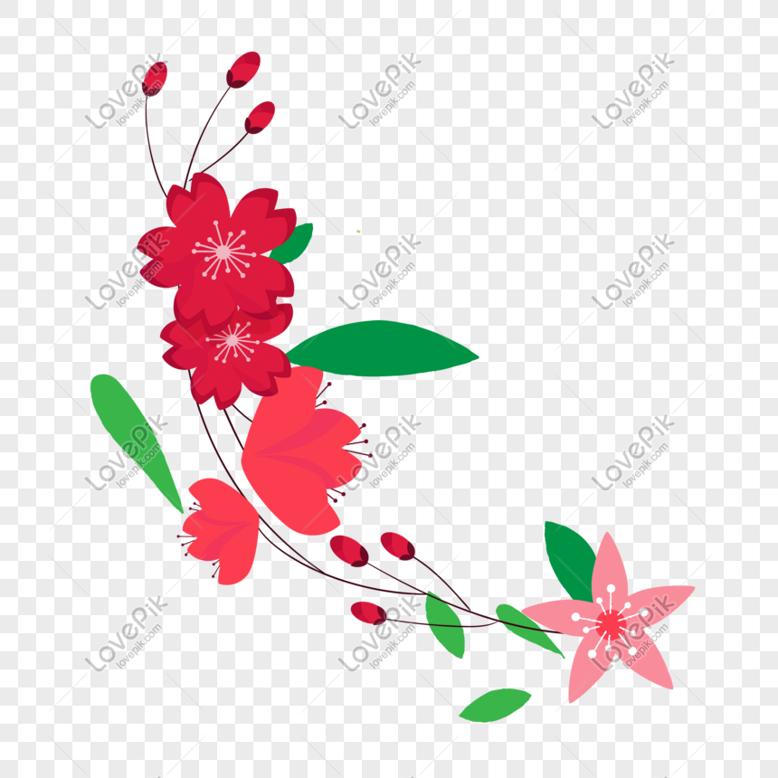 Flower Vector Illustration Png Png Image Picture Free Download
