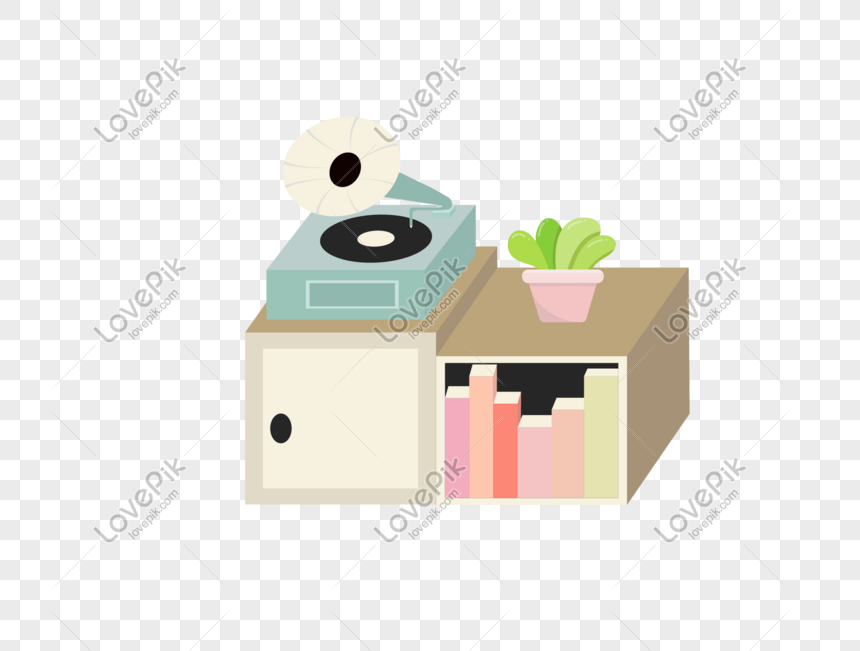 gramophone bookcase plant vector png image picture free download 611102280 lovepik com lovepik
