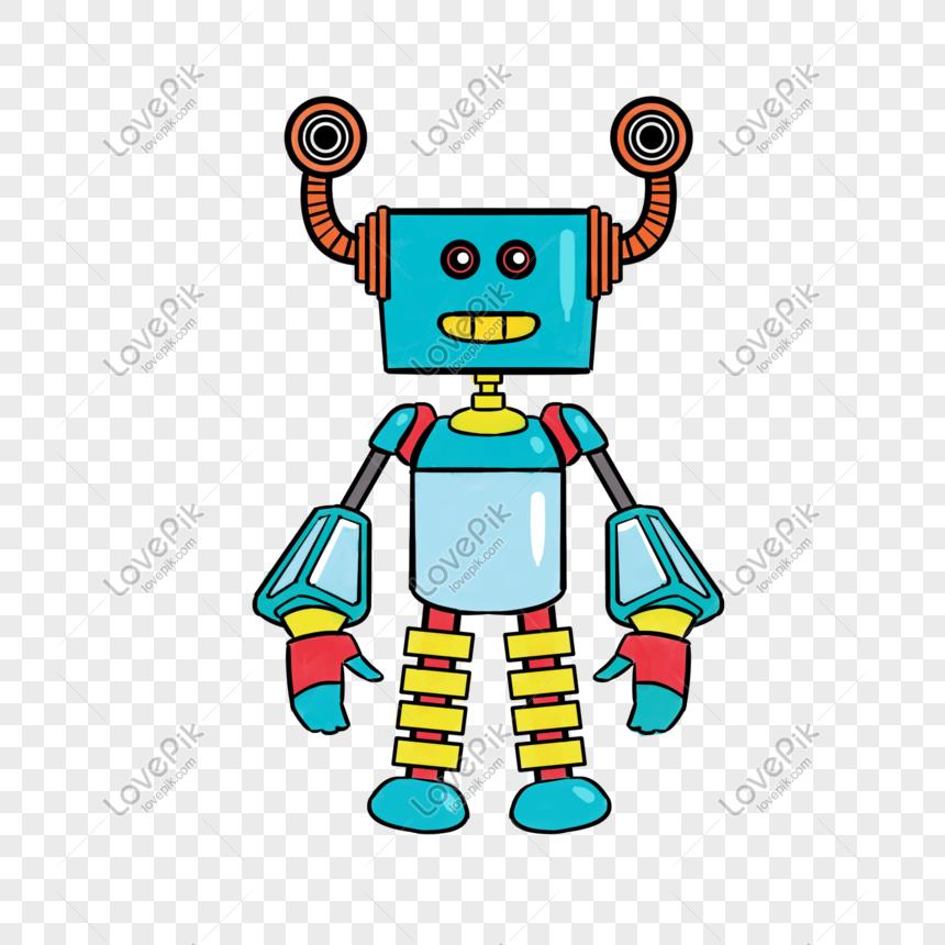 100 Gambar Gambar Kartun Robot Paling Bagus