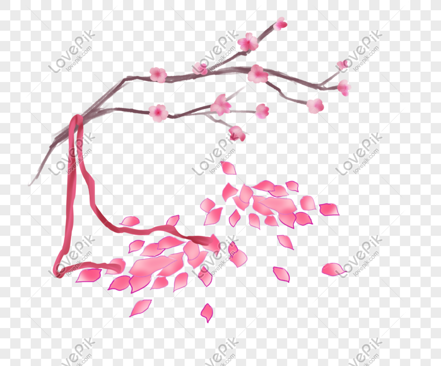 ancient style theme peach hand drawn illustration png