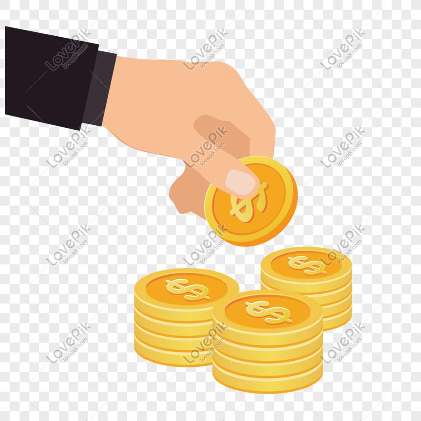 Gambar Uang Koin Kartun Ikon Investasi Uang Koin Png Grafik Gambar Unduh Gratis Lovepik