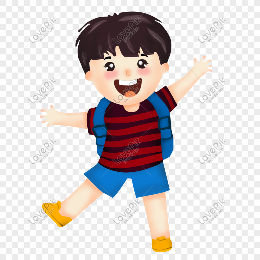Cartoon Character Boy Child Toddler Pupil Illustration Hand Draw Png Image Picture Free Download 611132346 Lovepik Com
