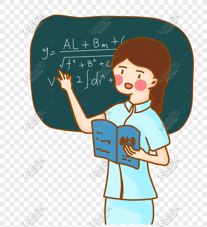 Selamat Guru Guru Hari Kelas Kartun El Percuma Butang
