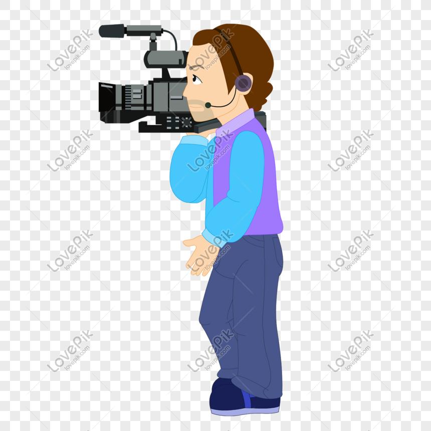 Download 8600  Gambar Animasi Orang Pegang Kamera  Paling Keren