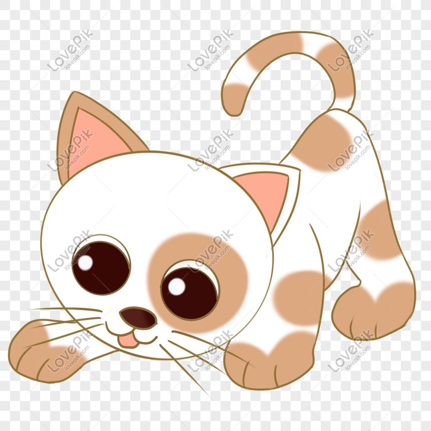 Gambar Ilustrasi Tema Hewan Kesayangan Kucing Ilustrasi Hewan Peliharaan Kucing Kartun Lucu Png Grafik Gambar Unduh Gratis Lovepik
