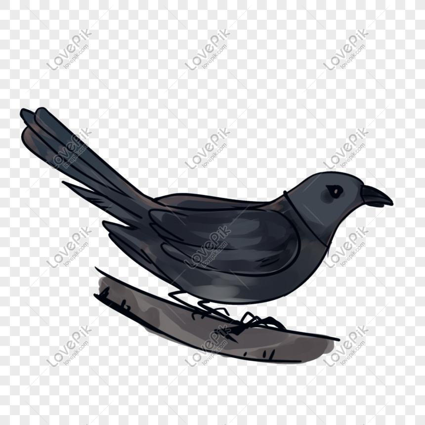Ilustrasi Kartun Tema Burung Gagak Halloween Gambar Unduh Gratis Imej 611206010 Format Psd My Lovepik Com