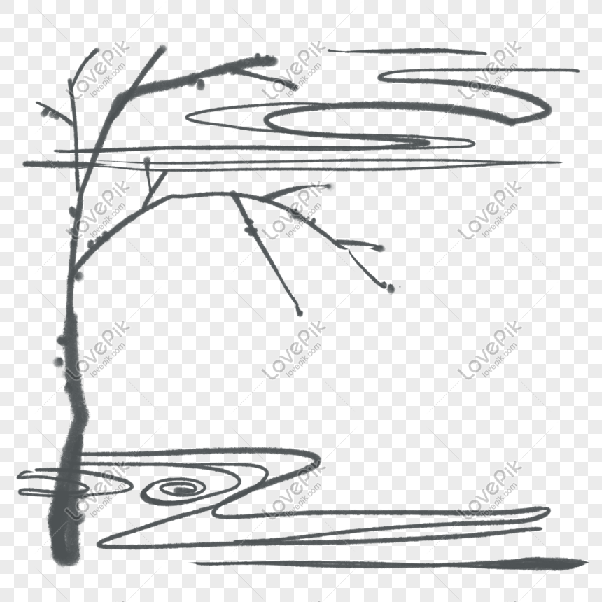 hand drawn twig river vector illustration png image picture free download 611233571 lovepik com hand drawn twig river vector