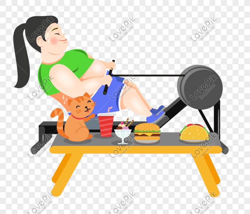 billboard fat guy dieting