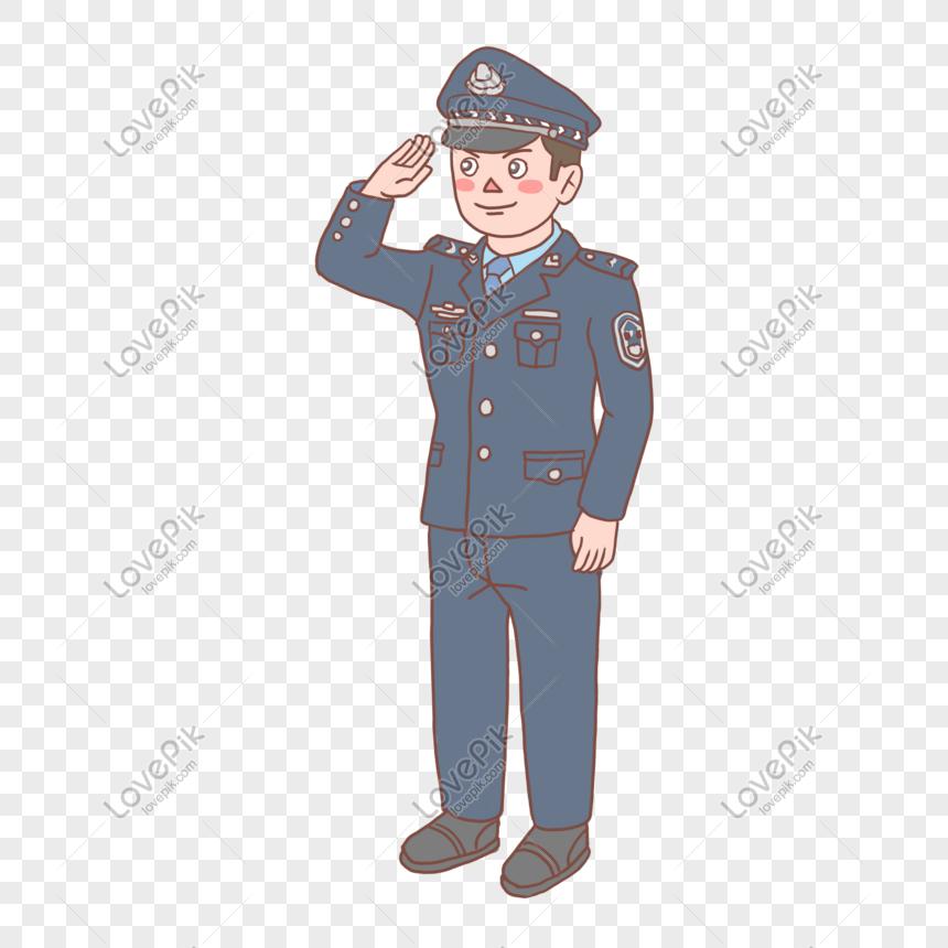 94 Foto Gambar Kartun Polisi Paling Bagus