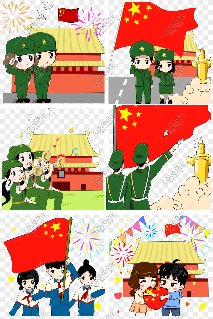 8800 Koleksi Gambar Kartun Lucu Hari Kemerdekaan Terbaru