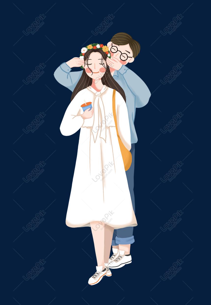 Download 530 Gambar Animasi Kartun Romantis Pelukan HD Free