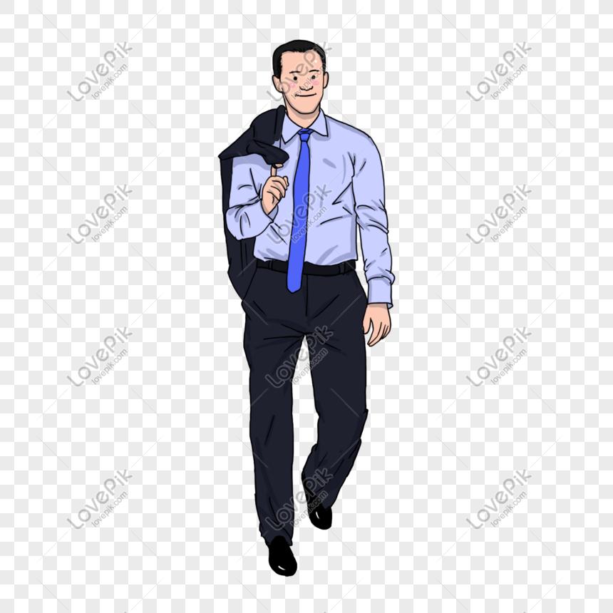 a0a10cce0 novio hermoso en traje azul de la camisa en el ejemplo sonriente ...
