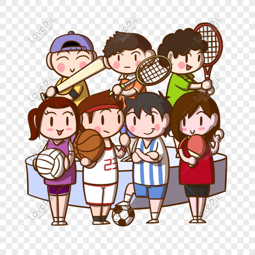 94 Gambar Gambar Kartun Olahraga Terbaik