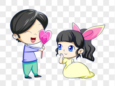 55 Gambar Kartun Yg Romantis HD