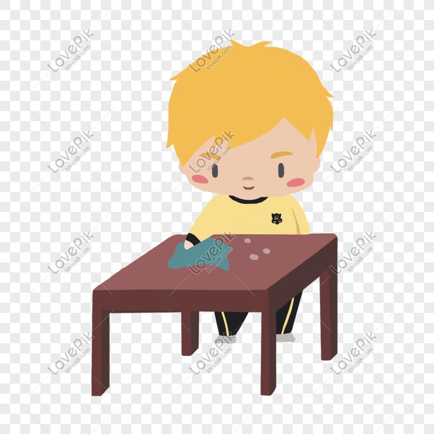 6700 Gambar Meja Sekolah Kartun HD