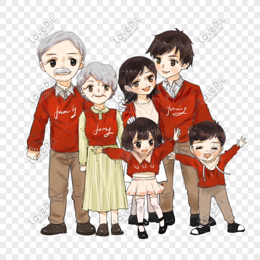 83+ Gambar Lucu Family Terlihat Keren