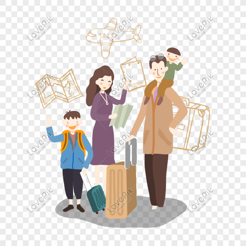 Family Travel Autumn Holiday Vector Illustration Png Image Picture Free Download 611354771 Lovepik Com