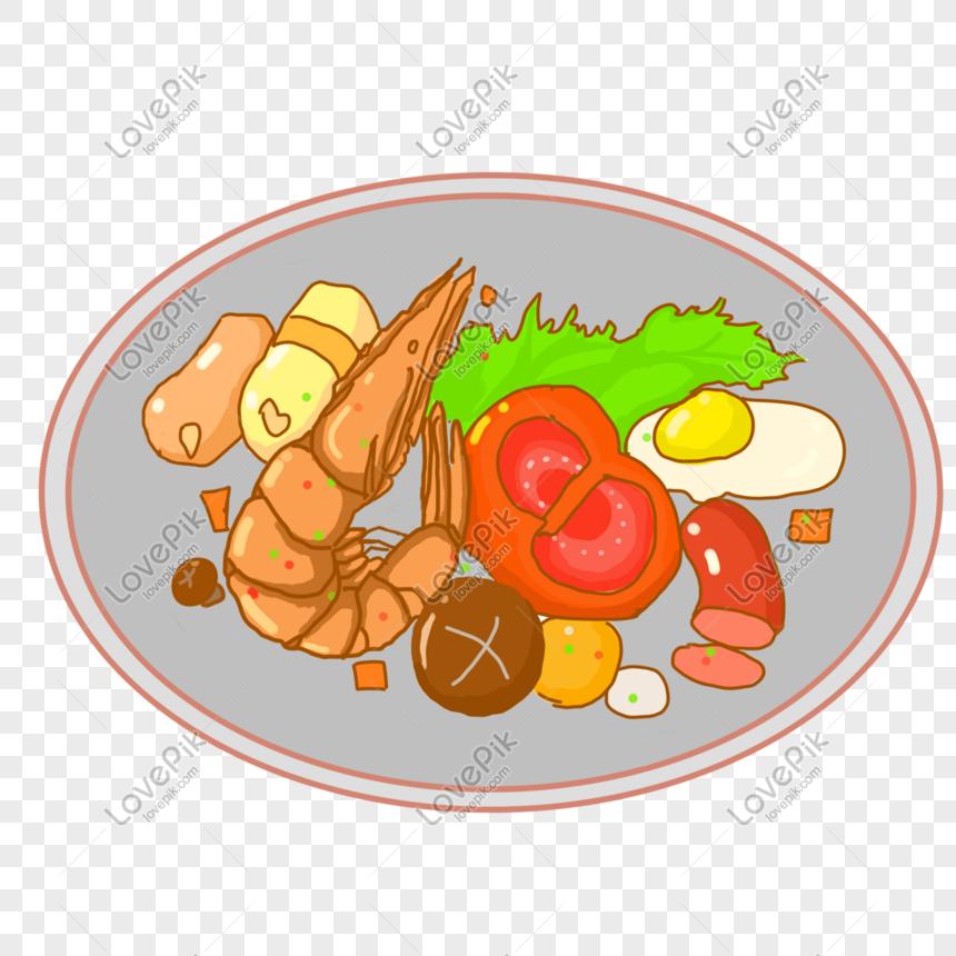 Ilustrasi Prasmanan Makanan Dan Minuman Gambar Unduh Gratis