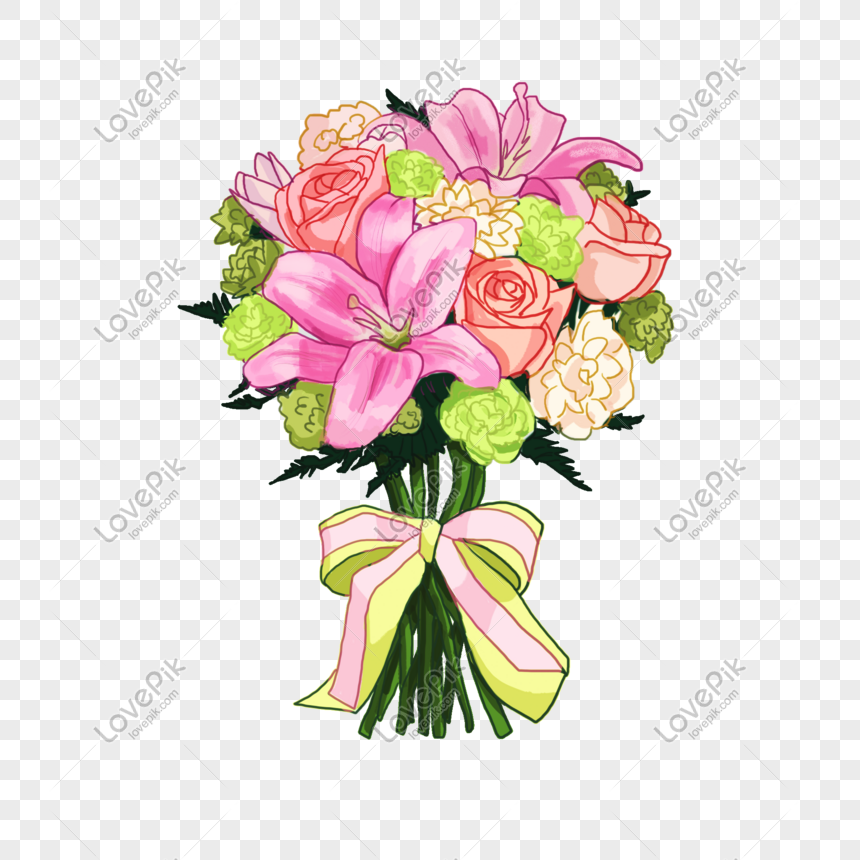flowers bouquet of flowers illustration png