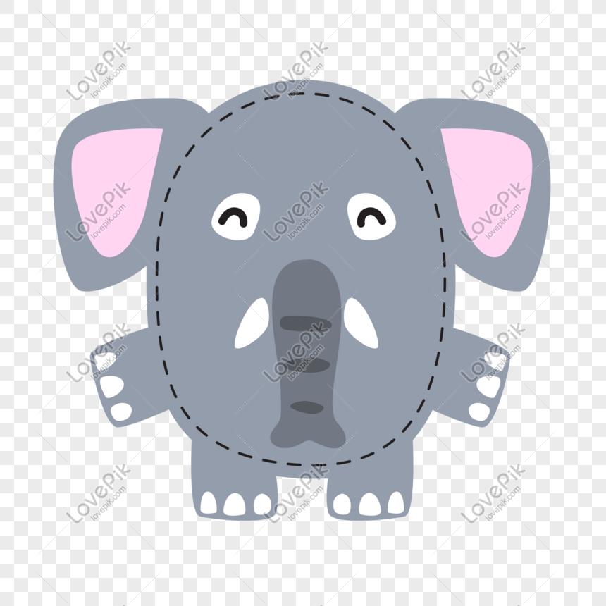 600 Gambar Kartun Lucu Gajah Gratis Terbaru