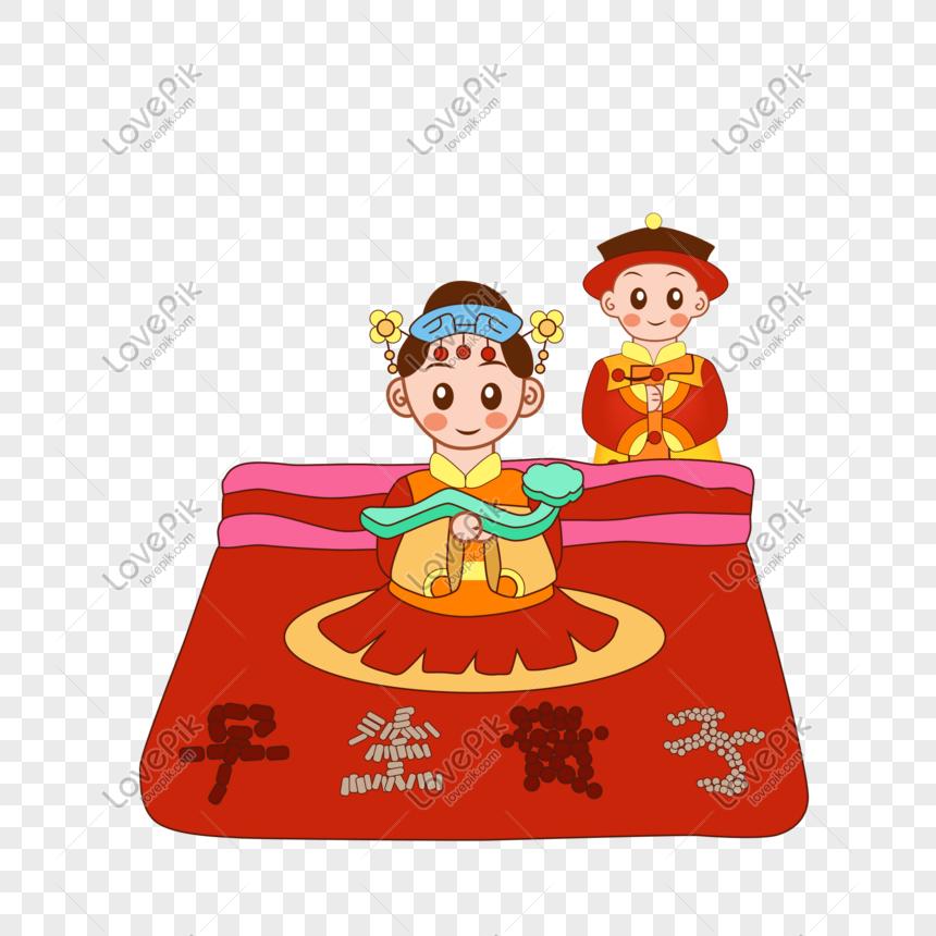 Kelahiran Awal Anak Bangsawan Tangan Perkahwinan Korea Yang Di Gambar Unduh Gratis Imej 611386634 Format Psd My Lovepik Com