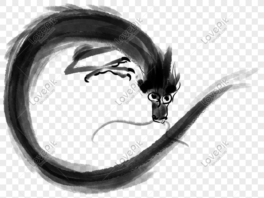 Tangan Naga Dakwat Hitam Dan Putih Menggambar Ilustrasi Gambar Unduh Gratis Imej 611376932 Format Psd My Lovepik Com
