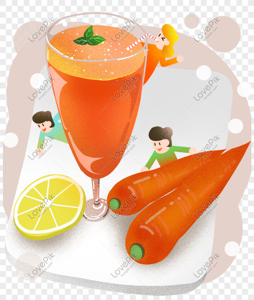 autumn health carrot juice illustration png image picture free download 611388598 lovepik com lovepik