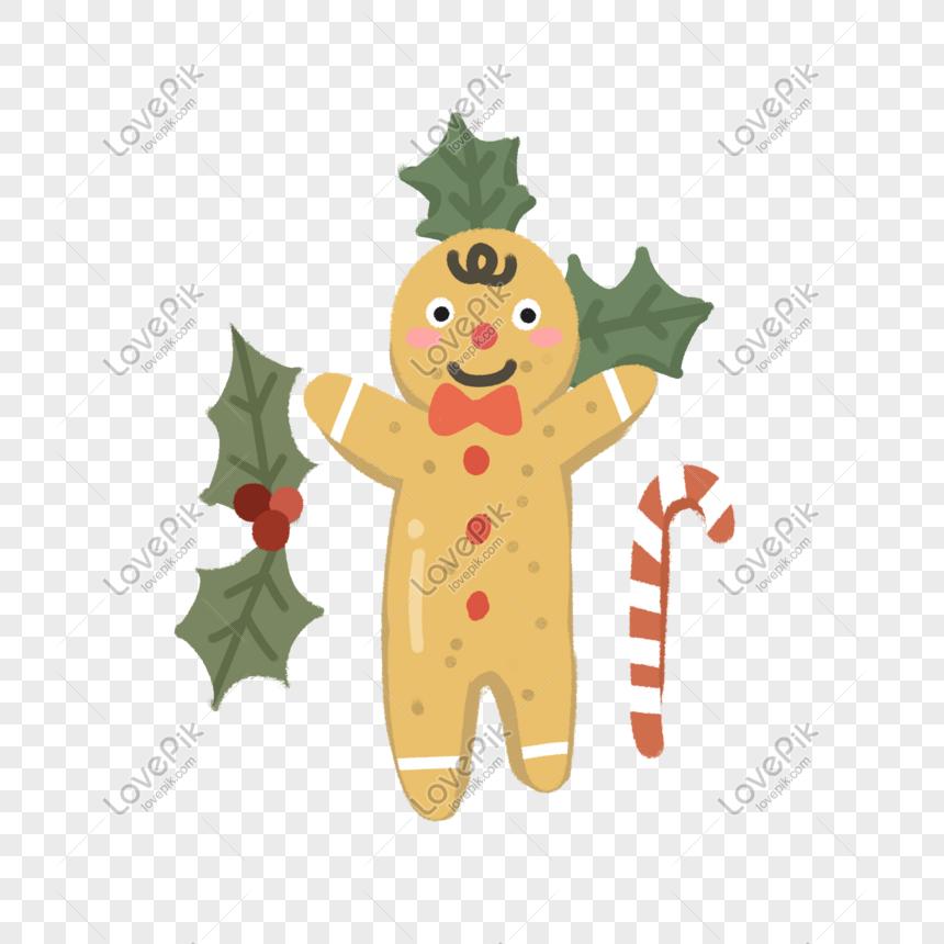 Imagenes De Galletas De Navidad Animadas.Galletas De Caramelo De Jengibre De Dibujos Animados De