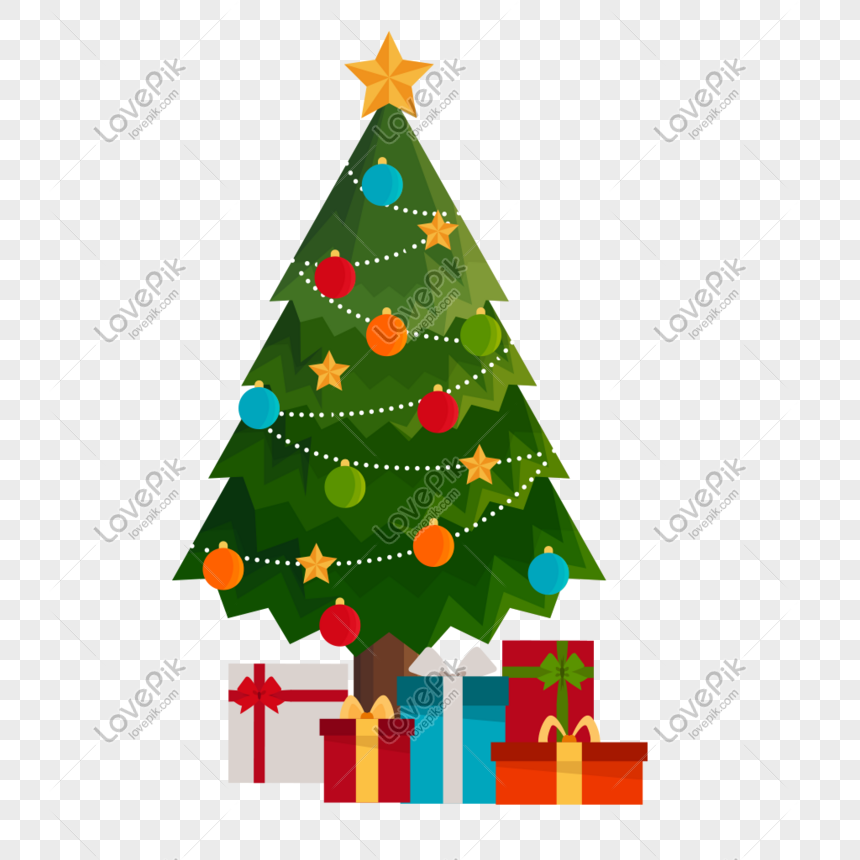 vector christmas christmas tree gift illustration png image picture free download 611393008 lovepik com lovepik