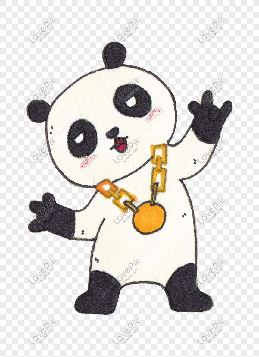Tangan Kartun Panda Menggambar Ilustrasi Gambar Unduh Gratis Imej 611423384 Format Psd My Lovepik Com