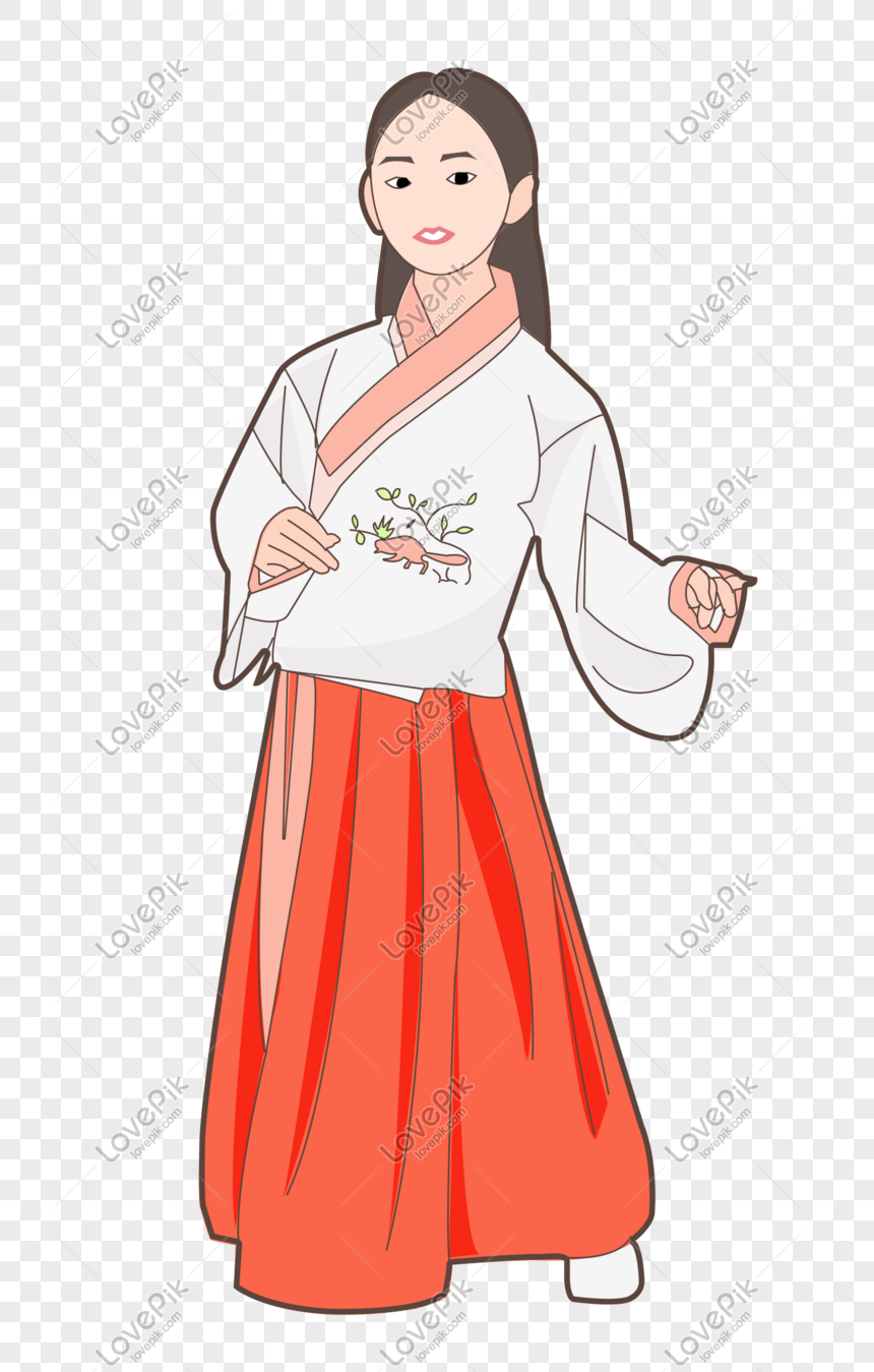 Chinese ancient style drama girl costume style beauty png