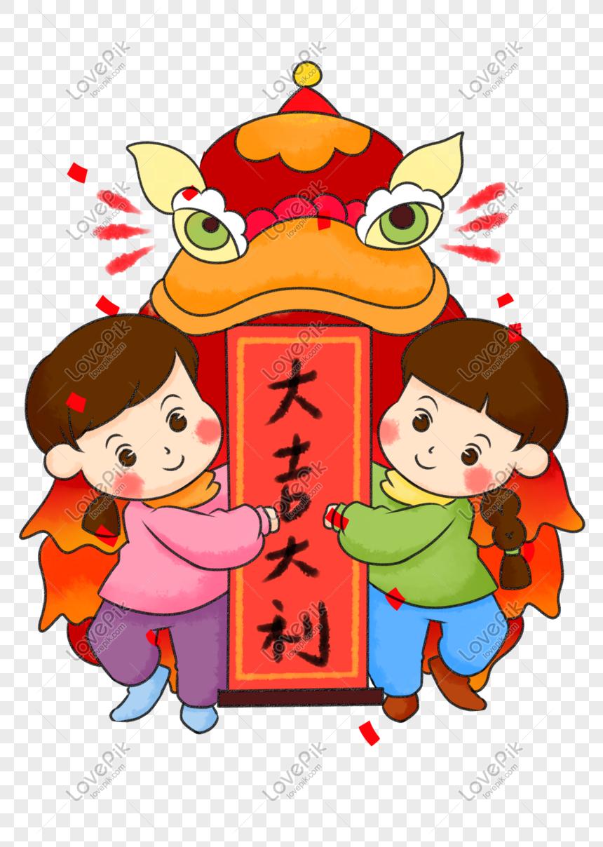 Tahun Baru Cina Lukisan Sayap Singa Tangan Lukisan Perayaan Cina Gambar Unduh Gratis Imej 611435655 Format Psd My Lovepik Com