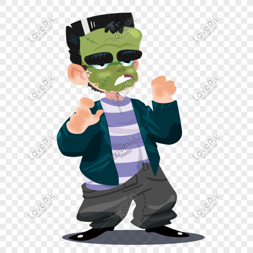 Vector funny ghost theme illustration png image_picture free