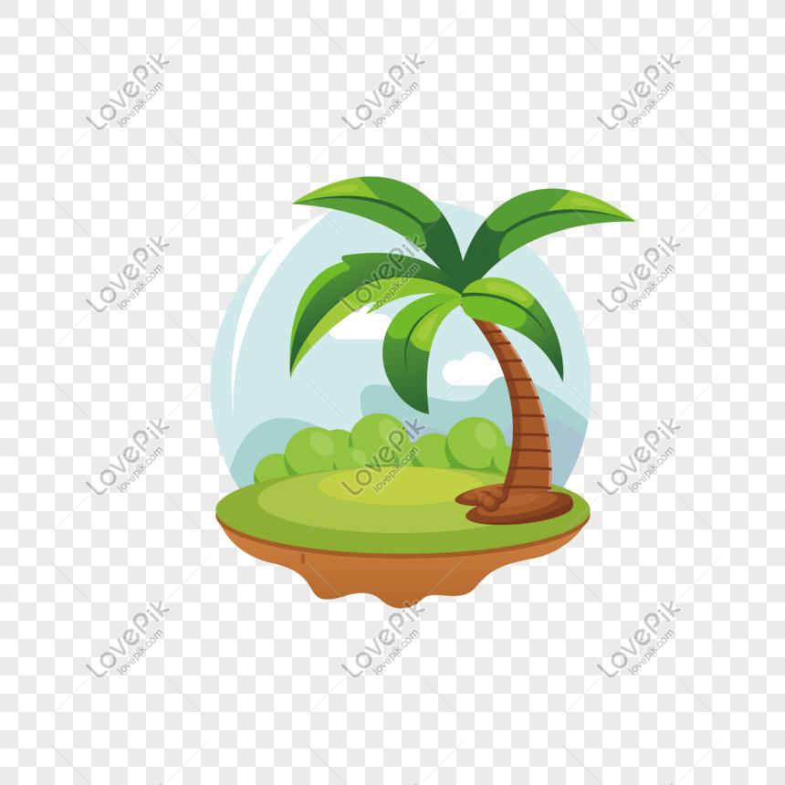 sanya cartoon coconut tree vector png image picture free download 611451068 lovepik com sanya cartoon coconut tree vector png
