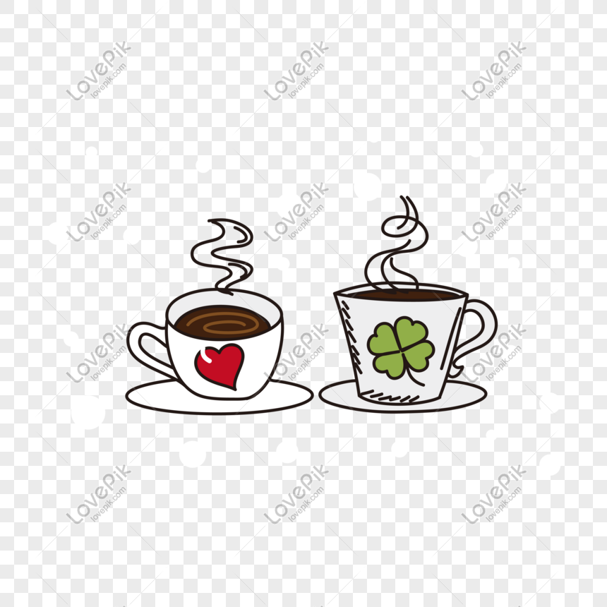Vector Hand Drawn Cartoon Coffee Cup Png Image Picture Free Download 611450871 Lovepik Com
