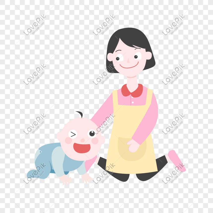 Cartoon Baby Learning To Climb Illustration Png Image Picture Free Download 611473063 Lovepik Com