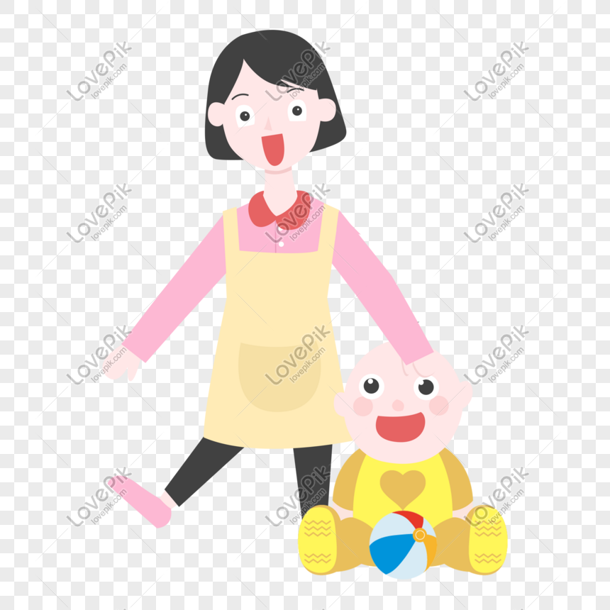 Cartoon Mother And Baby Parenthood Illustration Png Image Picture Free Download 611473064 Lovepik Com