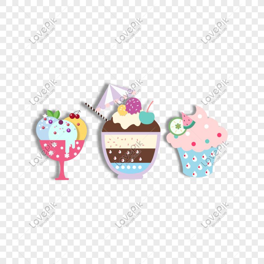 vector hand drawn ice cream ice cream png