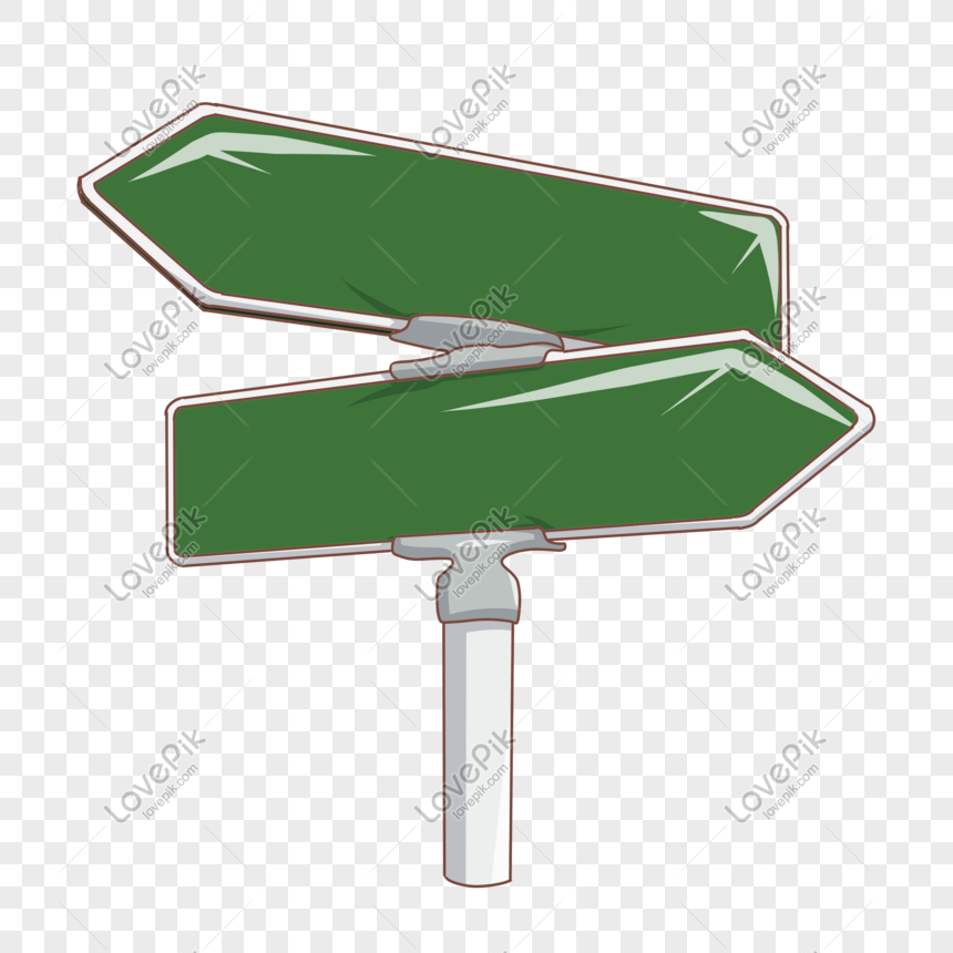green safety means road sign png