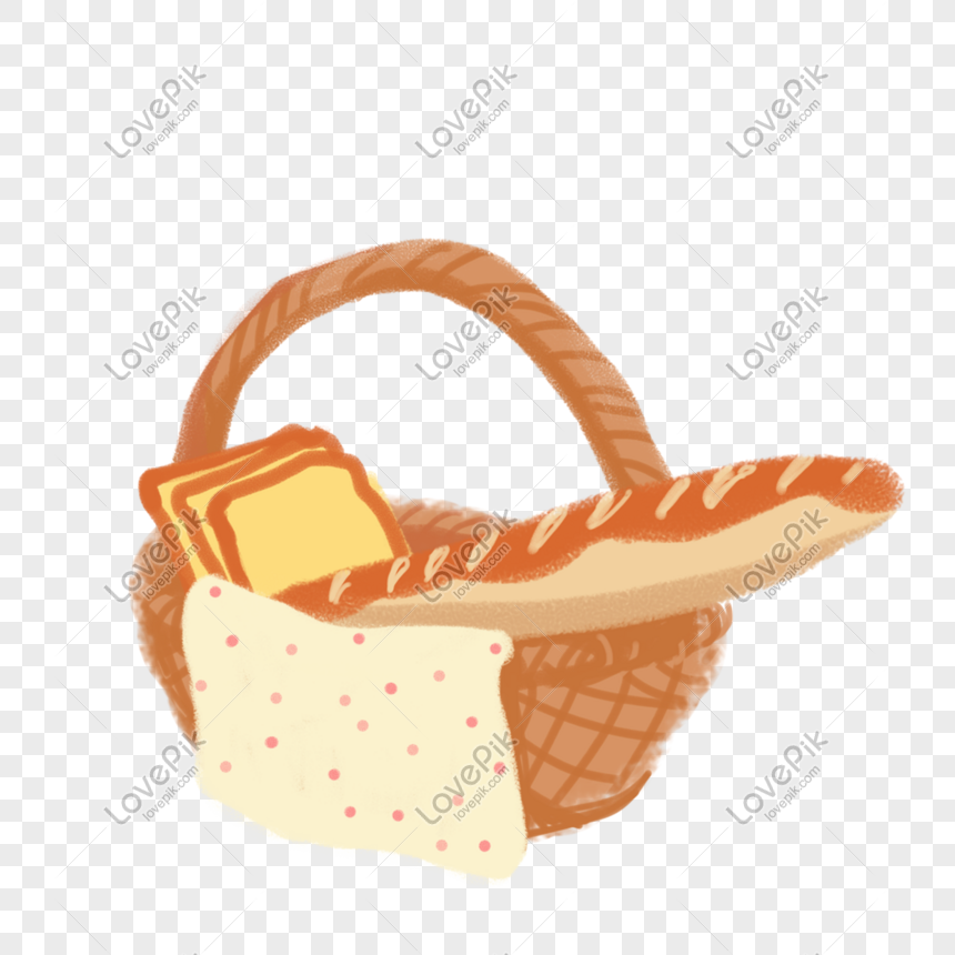 Hand Drawn Cartoon Camping Picnic Basket Png Image Picture Free Download 611825848 Lovepik Com