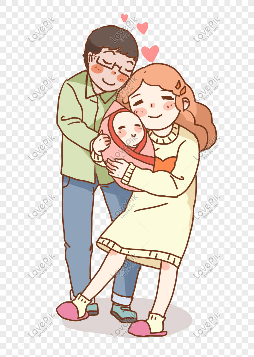 Mother And Baby Happy Family Illustration Png Image Picture Free Download 611516901 Lovepik Com